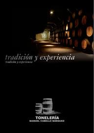 Toneleria Manuel Cabello Catálogo 2013